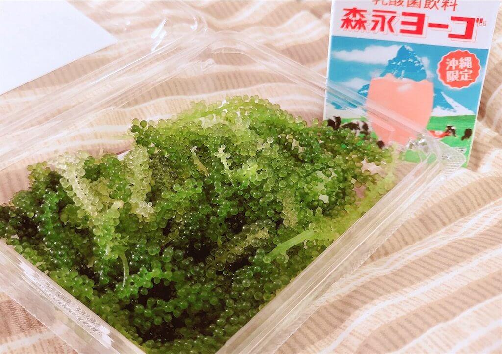 石垣島のドンキで買った海ぶどう