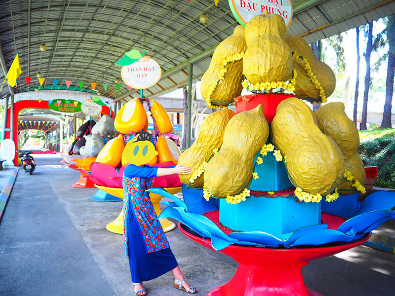 スイティエン公園の巨大ピーナッツ