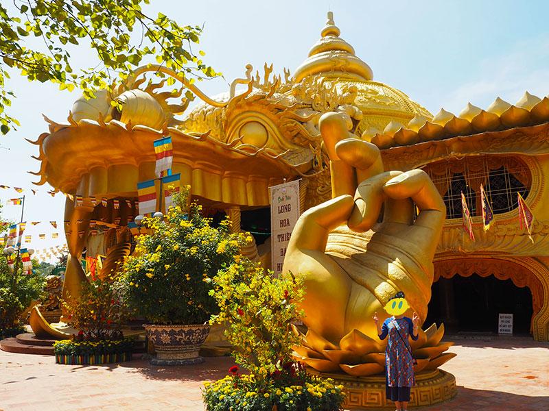 スイティエン公園の寺