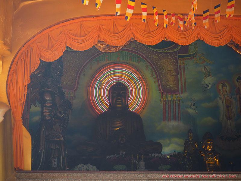 スイティエン公園の寺の内部
