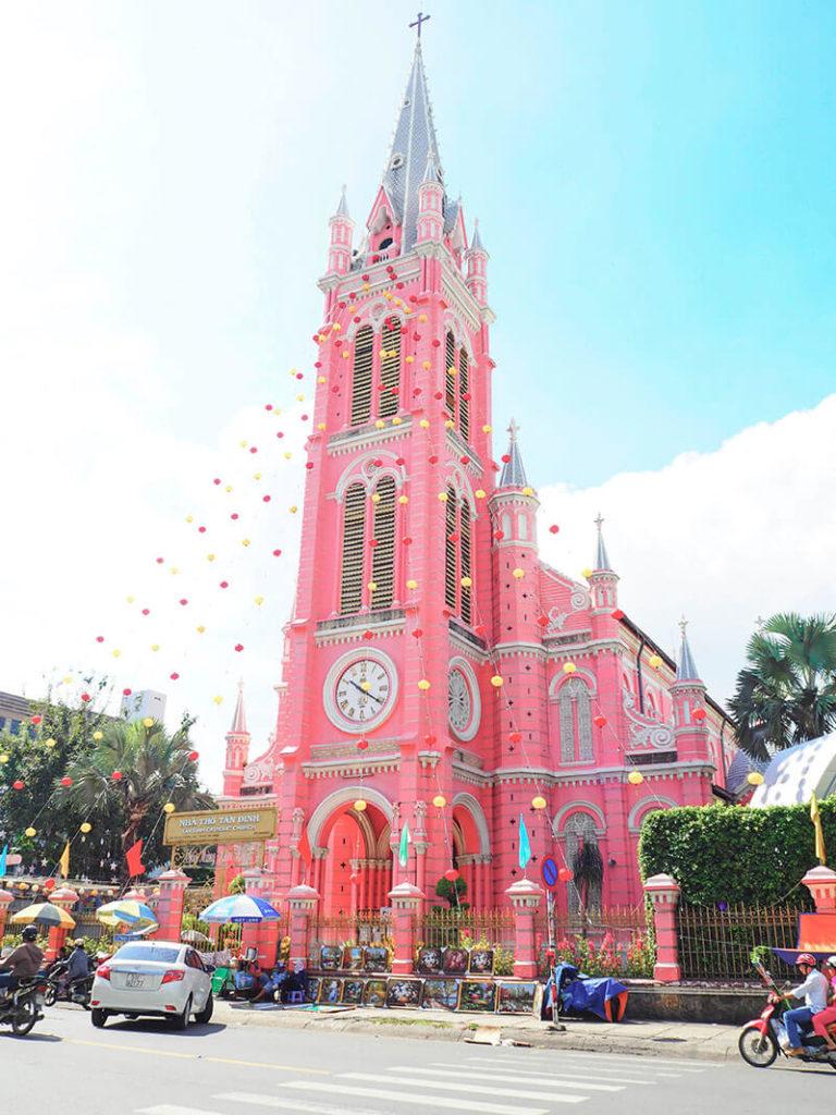ホーチミン・タンディン教会