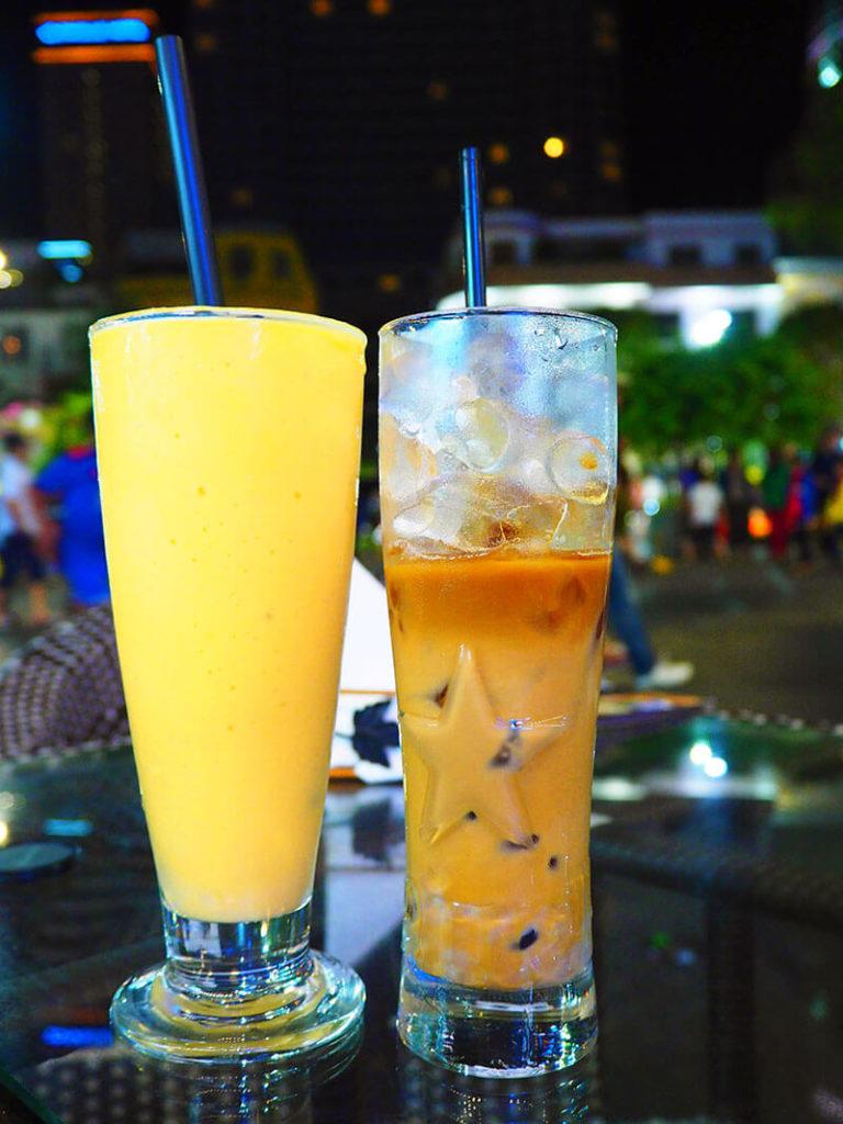 マンゴーのシントーとベトナムコーヒー