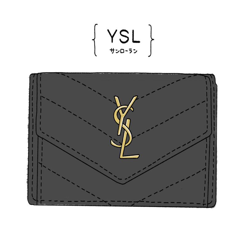 サンローランパリのミニ財布